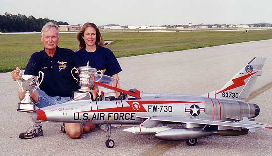 Mr. Top Gun '02 Bob Violett and Patty Generali