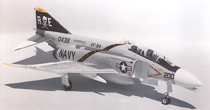 F-4 Top-Side View