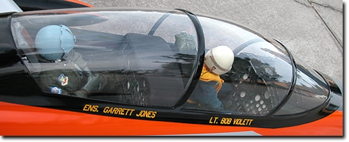 The Dual Seat Canopy Hatch accepts (2) 1/6th Scale Pilots & Ultra Bandit